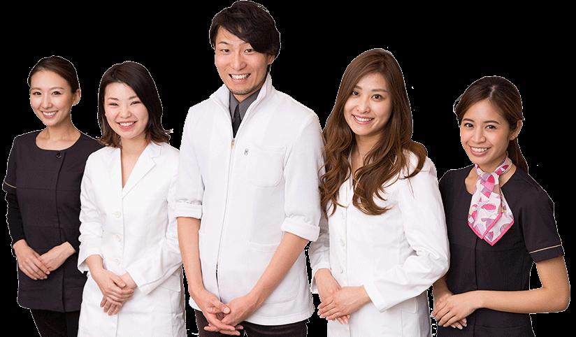 名古屋栄の葵デンタルデザインオフィスを支えるスタッフ